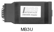 BiSS (SSI)-to-PC Adapter (USB)