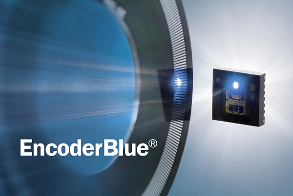 iC-PR Series: EncoderBlue® Goes Reflective; Lensless Reflective Opto-Encoders from iC-Haus
