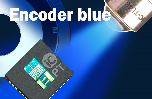 iC-PT H-Series Encoder blue